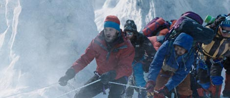 Everest, red. Baltasar Kormákur