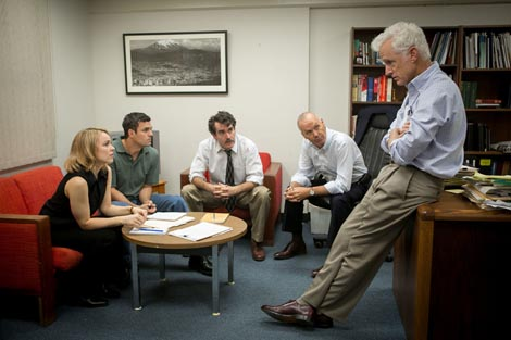 Spotlight, red. Tom McCarthy
