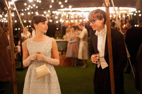 Teorija svega (The Theory of Everything), red. James Marsh